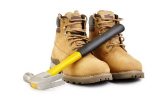 how to break in work boots fast