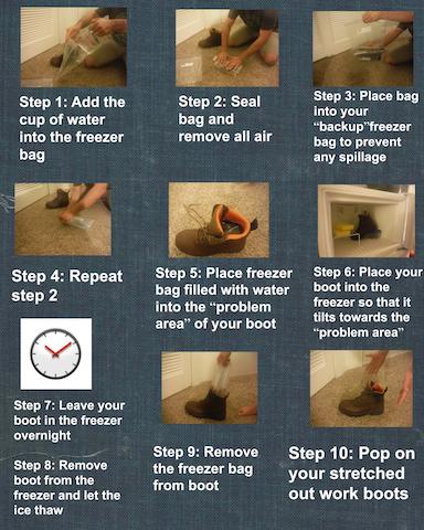 how to break in boots
